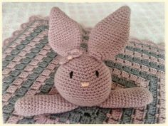 Crochet by milunar: manta de apego para bebe.