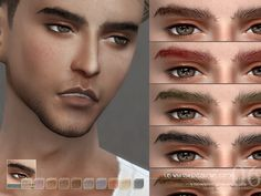 Eyebrows M 201706 by S-Club WM at TSR • Sims 4 Updates