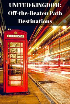 This Destinations Page for travel in the United Kingdom includes articles on off-the-beaten path travel in both England and Scotland