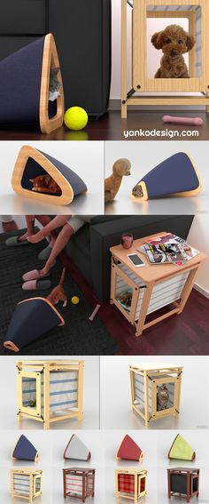 The designers at Phiaro have come up with a clever solution: furniture that doubles as a place for pets or at least blends in with your interior style. Read more at www.yankodesign.com