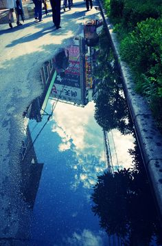 Aesthetic Images, Scenery, Rain, Anime, Wallpaper, Places, Water, Pictures, Photography