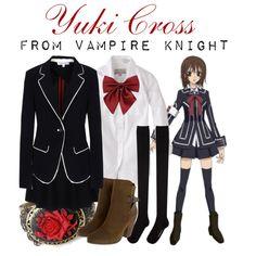 """[Vampire Knight] Kuran Yuuki - Cross Academy Uniform"" by animangacouture on Polyvore  www.otakucouture.com"