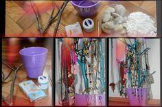 homemade jewelery stands