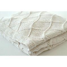 Diamond blanket Knitting pattern by Rocket Clothing London
