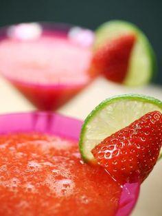 Margarita à la fraise - Recette de cuisine Marmiton : une recette