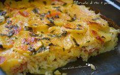 Sformato di riso e patate (3)