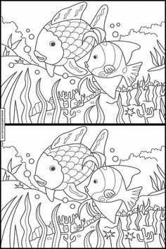 Aktiviteter for barn til print Kids Math Worksheets, Printable Activities For Kids, Preschool Activities, Mickey Coloring Pages, Coloring Books, Find The Difference Pictures, Hidden Pictures Printables, Ocean Words, Visual Perception Activities