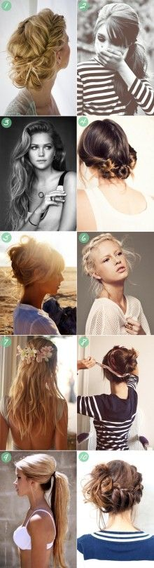 Hairstyles I'd like to try, but would most likely fail at. Pinning just in case.