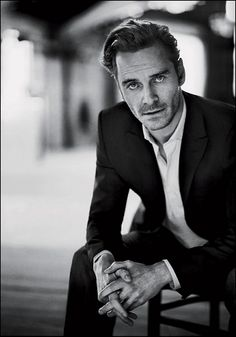 Michael Fassbender by Boo George // portrait, man, black and white, composition Business Portrait, Corporate Portrait, Corporate Headshots, Business Headshots, Mens Headshots, Professional Headshots, Actor Headshots, Photos Portrait Homme, Pose Portrait