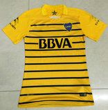 Boca Juniors 2016 Season Away Yellow Soccer Jersey