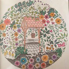 14 En Iyi Esrarengiz Bahçe Görüntüsü Coloring Books Coloring