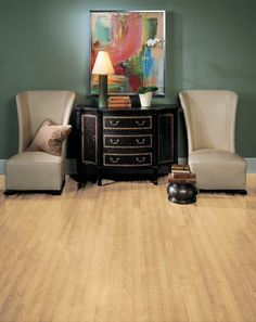 Natural Birch Hardwood Floors by Armstrong