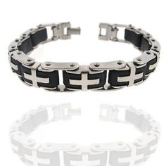 Amazing Tribal Style Very Rare and Amazing Design. Love, Peace and Strength Meanning Mens 8.5 Inch Bracelet High Quality Stainless Steel