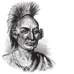 Part I. Black Hawk (1767-183 In an 1804 treaty, the Sauk & Fox Indians of the Upper Mississippi River Valley ceded 50,000,000 acres for a mere pittance. In 1831, Chief Black Hawk, leader of the Algonquian nation, found whites encroaching on traditional tribal lands and villages. Black Hawk and his warriors began raiding outlying farms and settlements, but were soon driven into Missouri by soldiers. Black Hawk and his band were soon threatened by famine and their traditional enemy, the Sioux.