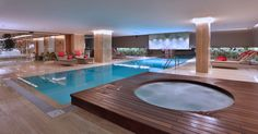"""""""SPA CENTER"""" Spa Center, Downtown Hotels, Istanbul, Places To Go, Outdoor Decor, Indoor Outdoor, Wood, Modern, Furniture"""