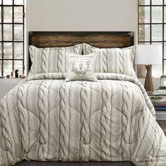 Laurel Foundry Modern Farmhouse Edgeworth 4 Piece Comforter Set Size: Full/Queen