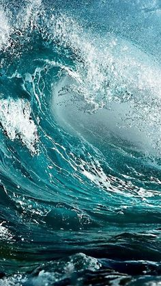 Dec 2019 - Water, Waves and the ocean. Only the beauty of wind and water. because we love salty water & stormy sea. See more ideas about Ocean, Waves and Water. No Wave, Water Waves, Sea Waves, Sea And Ocean, Ocean Beach, Ocean Sunset, Ocean Life, Belle Photo, Under The Sea