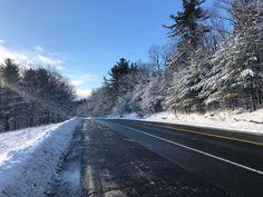Along Daniel Shays Highway in Pelham, Massachusetts. Paul Chandler February 2018.