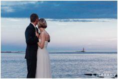 Sunset New Castle, New Hampshire Portsmouth Elopement // I AM SARAH V Photography
