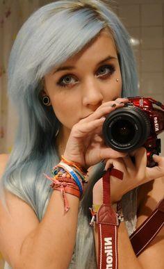 Beautiful blue hair (We Love Pastel Hair)
