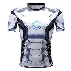 Iron Man Shirt ca €19 | Kostüm-Idee zu Karneval, Halloween & Fasching