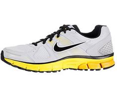 :Nike Men's NIKE AIR PEGASUS+ 28 RUNNING SHOES 8.5 (PR PLTNM/BLACK/CHRM YLLW/UNVRSTY)