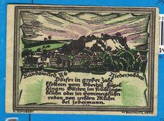 Poland Pommern Ersatzwertzeichen Randower Stettin 5 Million Mark 1923