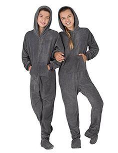 Footed Pajamas - Howling Moon Kids Hoodie Chenille - Xsma... https://www.amazon.com/dp/B00AMKPT7W/ref=cm_sw_r_pi_dp_x_L8Y.xbA9ZANZ6