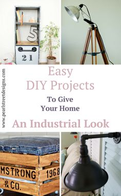 Easy DIY Industrial