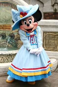 Adorable Dapper Minnie Mouse