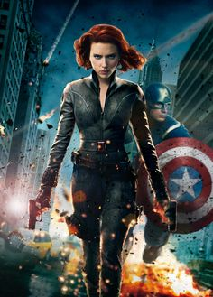 I have to say.........Black Widow is my favorite superhero!!! She isn't afraid!!! Captain America is also my favorite because he is awesome and hot!!!!