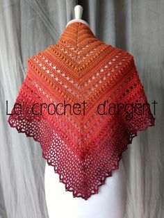 crochet shawls and wraps prayer Crochet Prayer Shawls, Crochet Shawls And Wraps, Knitted Shawls, Crochet Scarves, Crochet Clothes, Crochet Hooks, Free Crochet, Knit Crochet, Double Crochet