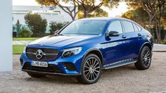 2017 Mercedes-Benz GLC Coupe Overview