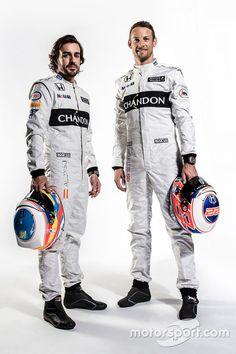 Fernando Alonso and Jenson Button, McLaren