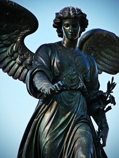 Bethesda Fountain in New York (Angel of the Waters)
