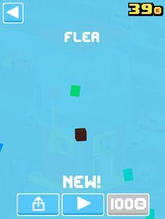 Just unlocked Flea! #crossyroad