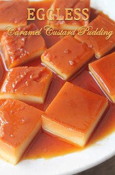 YUMMY TUMMY: Eggless Caramel Custard Pudding Recipe - Eggless Creme Caramel Recipe