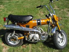 Honda CT70. Pure fun. Couldn't afford it as a kid, but it's never too late!