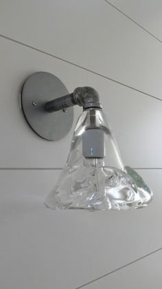 FIND OUTSIDE BEACH LAMP to replace what I have...This is not it! -Chunky glass shade