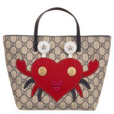 b3013b7bb51 Blue GG Crab Tote Bag (29cm). Gucci KidsAsian ...
