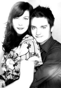 Liv Tyler and Elijah Wood