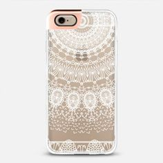 ☆ BOHO WHITE LACE by Monika Strigel iPhone 6 case by Monika Strigel | Casetify