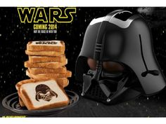 Darth Vader Toaster. I remember seeing this in a big bang theory episode... does this mean it burns your toast in the middle?