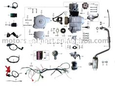chinese atv wiring diagram 50cc 7 volt transformer for 110 the eds coolster 110cc parts furthermore pit bike engine and
