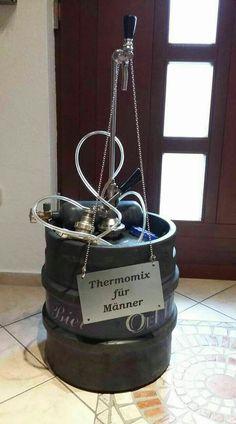 Thermomix für Männer. Bier. Lustig witzig Sprüche Bild Bilder