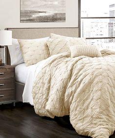Ivory Five-Piece Ravello Comforter Set