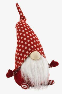 Handmade Swedish Scandinavian Christmas Santa Claus Gnome Christmas Decoration