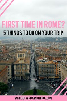 The Colosseum. The Vatican. The Sistine Chapel. The food. Between Hollywood and the history books, you've probably already seen and heard a lot about Rome. But with so much to see Oh The Places You'll Go, Places To Travel, Places To Visit, Vacation Places, Vacation Ideas, Europe Holidays, Italy Holidays, Vacation Savings, Dream Vacations