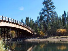 Harper's Bridge, #Sunriver Oregon in the fall