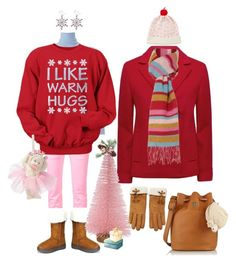 Sugar Plum Fairy's Day Off. by briaryzombie on Polyvore featuring polyvore fashion style Uniqlo Jaeger Julien David Tory Burch GLEN PRINCE Forever 21 Kate Spade Department 56 Threshold clothing